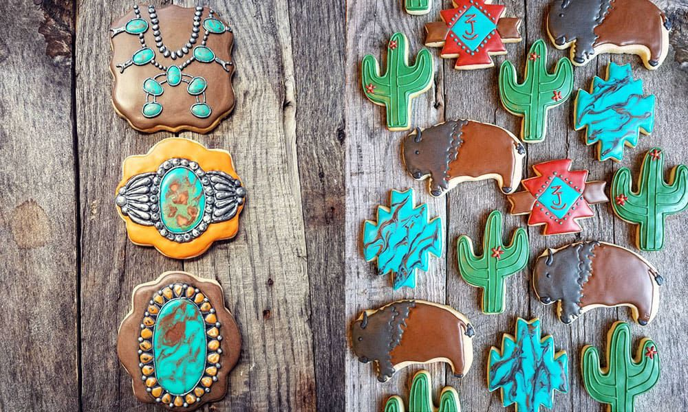 kent creations cookie cookies cowgirl magazine