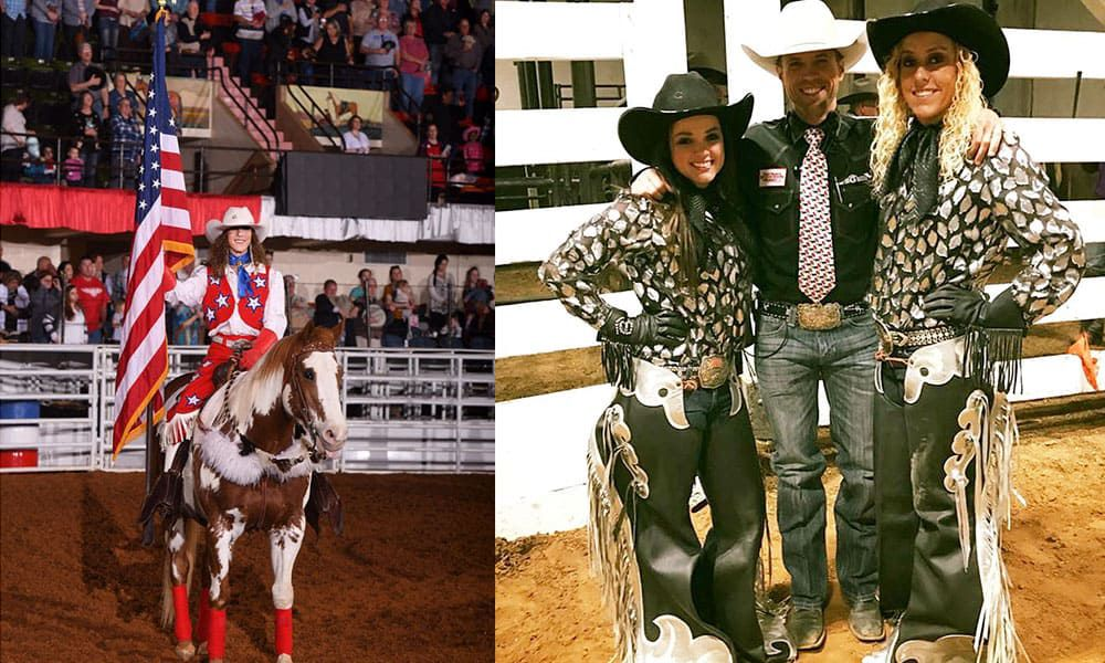 grand entry gals fwssr fort worth stock show and rodeo cowgirl magazine