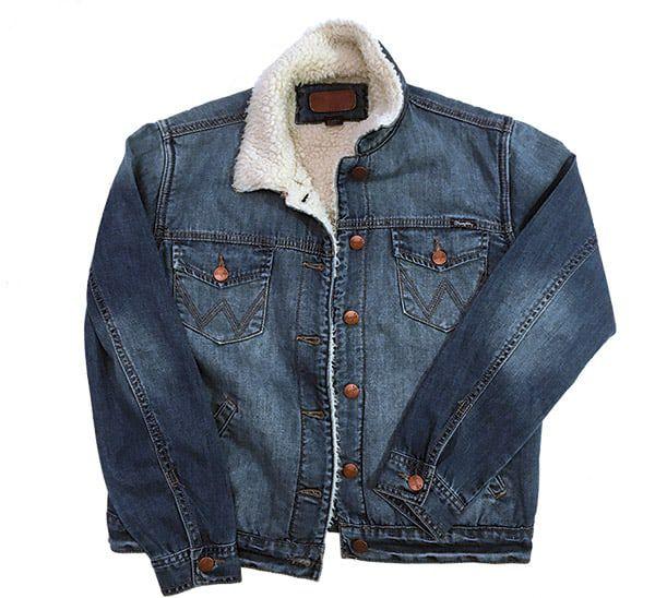 Shearling Jacket Cowgirl Magazine Wrangler