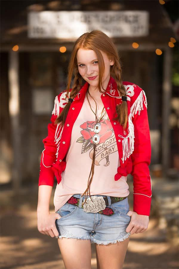 junk gypsy pink nobody's baby tank top cowgirl magazine