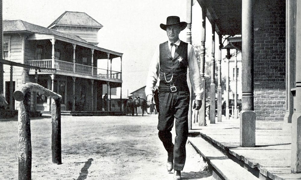 On Screen Cowboy Will Kane High Noon Cowgirl Magazine