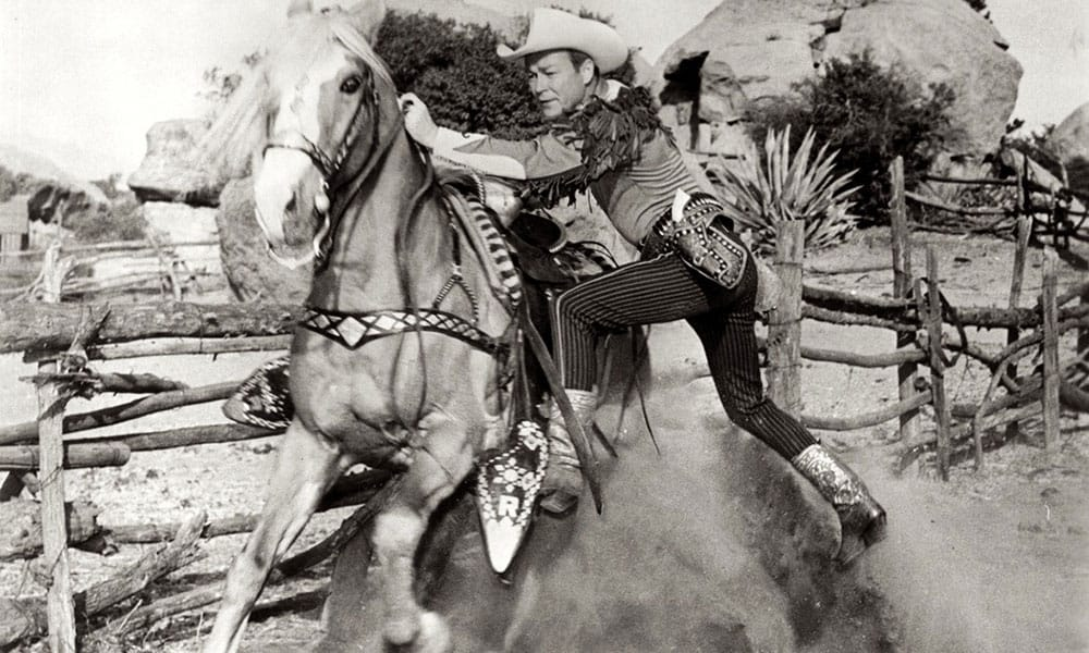 On Screen Cowboy Roy Rogers Cowgirl Magazine