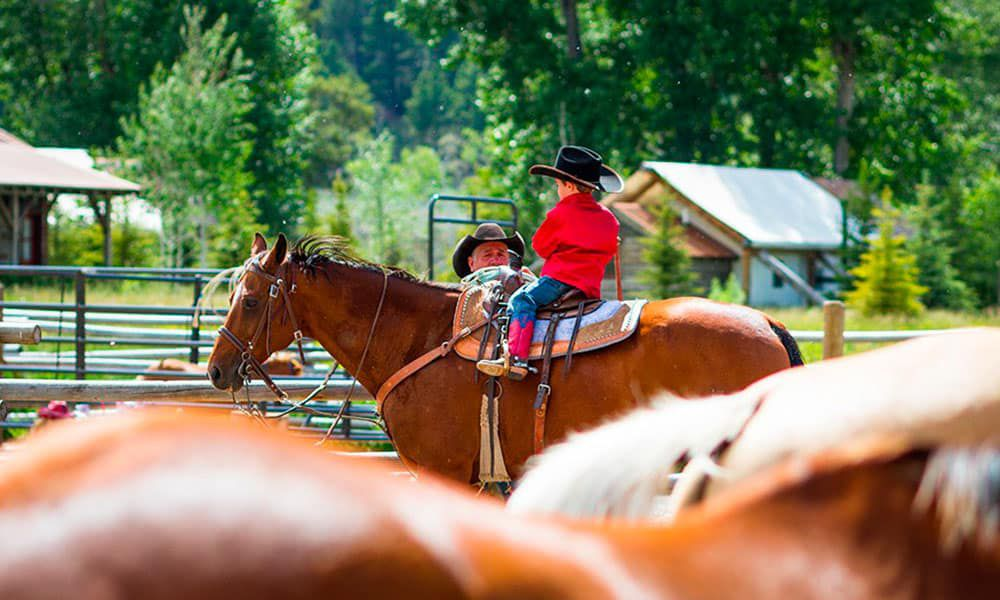 The Ranch At Rock Creek Horses Cowboys Cowgirls Cowgirl Magazine