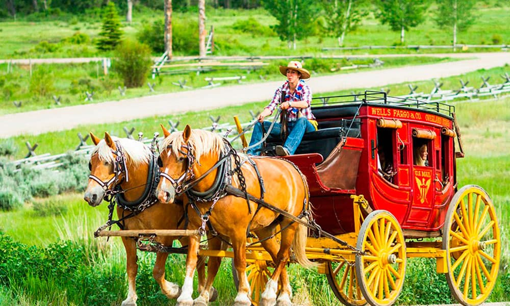 The Ranch At Rock Creek Horses Carriage Cowgirl Magazine