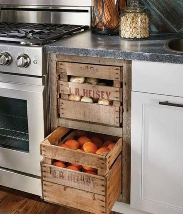Rustic fruit drawers cowgirl magazine