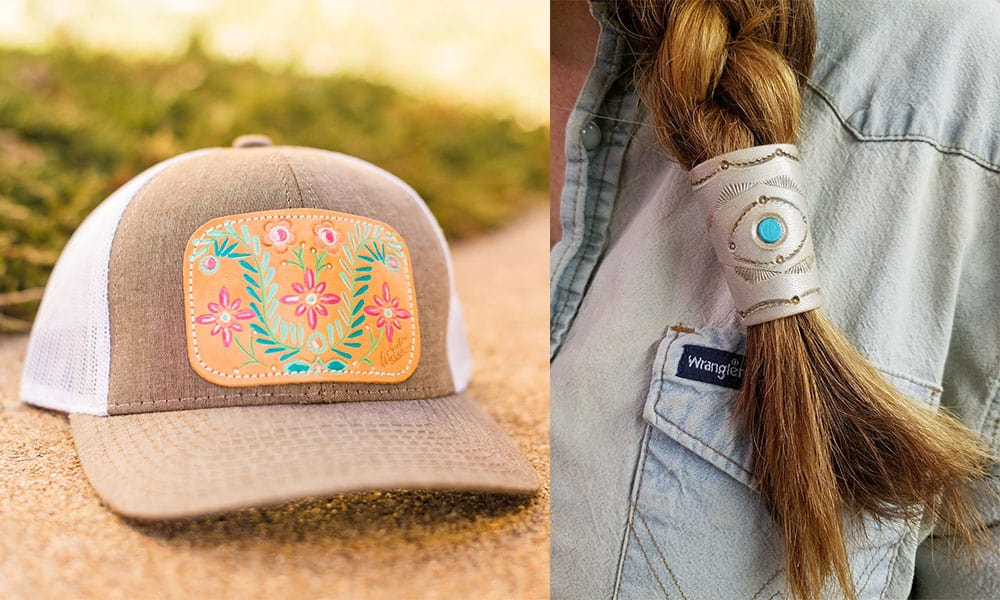 mcintire saddlery new line hat cap cowgirl magazine