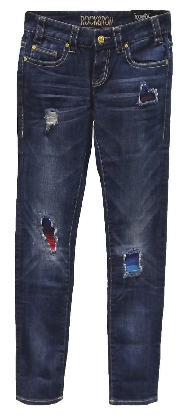 Serape Fashion Cowgirl Magazine Jeans