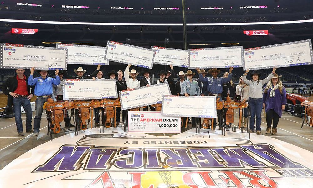 rfd-tv's the american rodeo rfd-tv cowgirl magazine final results recap