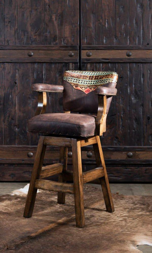 Barstools Adobe Interiors Western Home Cowgirl Magazine