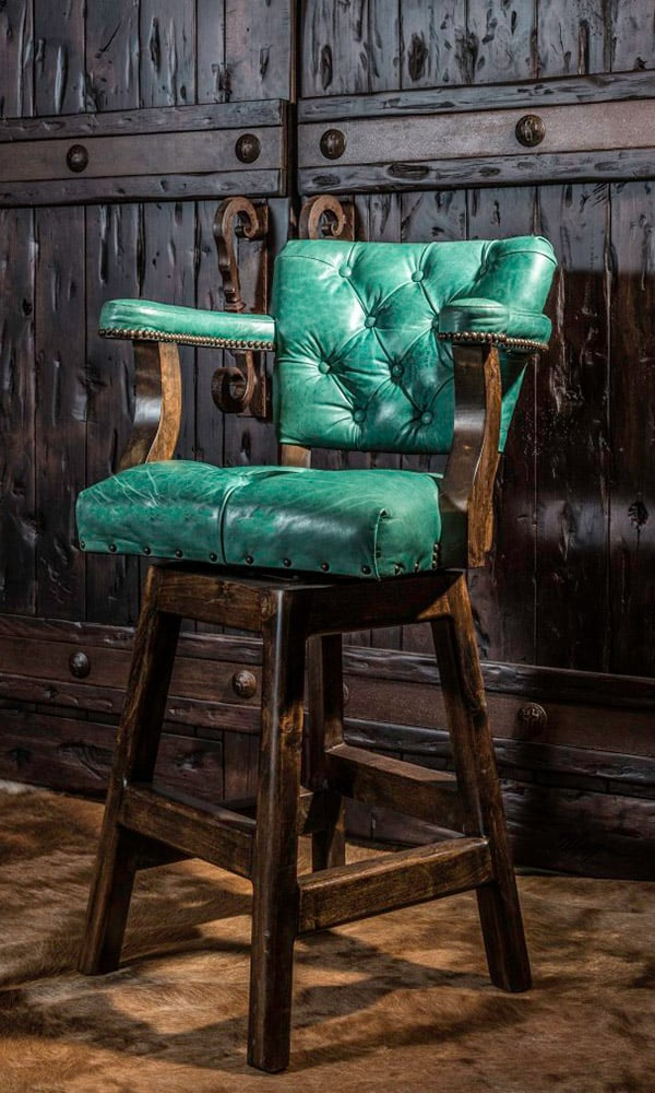 Barstools Adobe Interiors Western Home Cowgirl Magazine