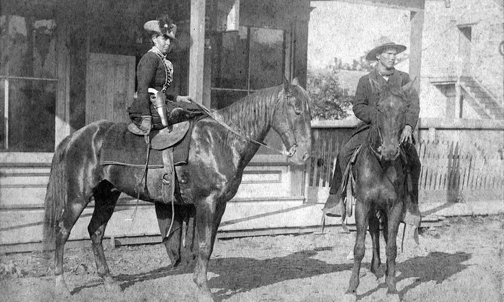 Wild West Outlaw Belle Starr Cowgirl Magazine