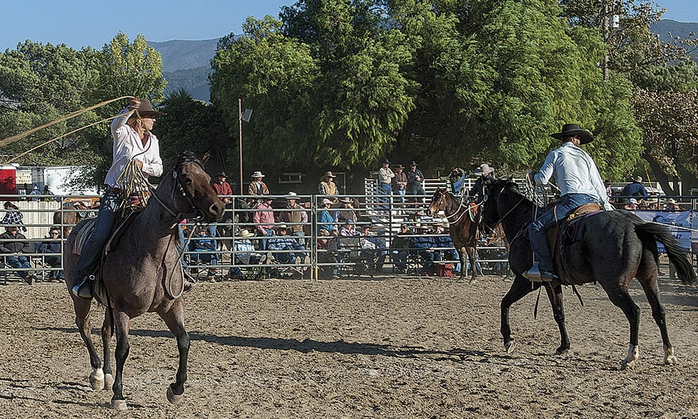 Ranch Roping Reata Brannaman Cowgirl Magazine Pro Am Vaquero by Ken Amorosano