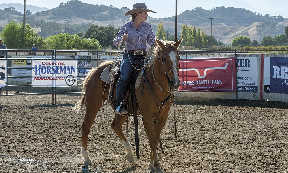 Ranch Roping Brannaman Cowgirl Magazine Pro Am Vaquero by Ken Amorosano