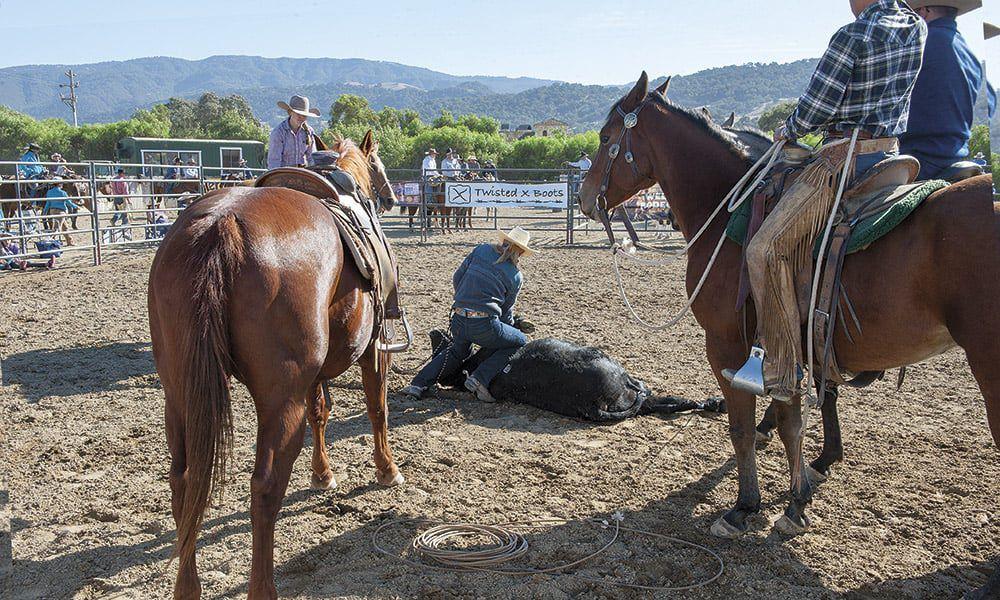 Ranch Roping Brannaman Cowgirl Magazine Pro Am Vaquero by Ken Amorosano