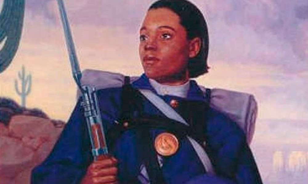 Cathy Williams Female Soldier Cowgirl Magazine