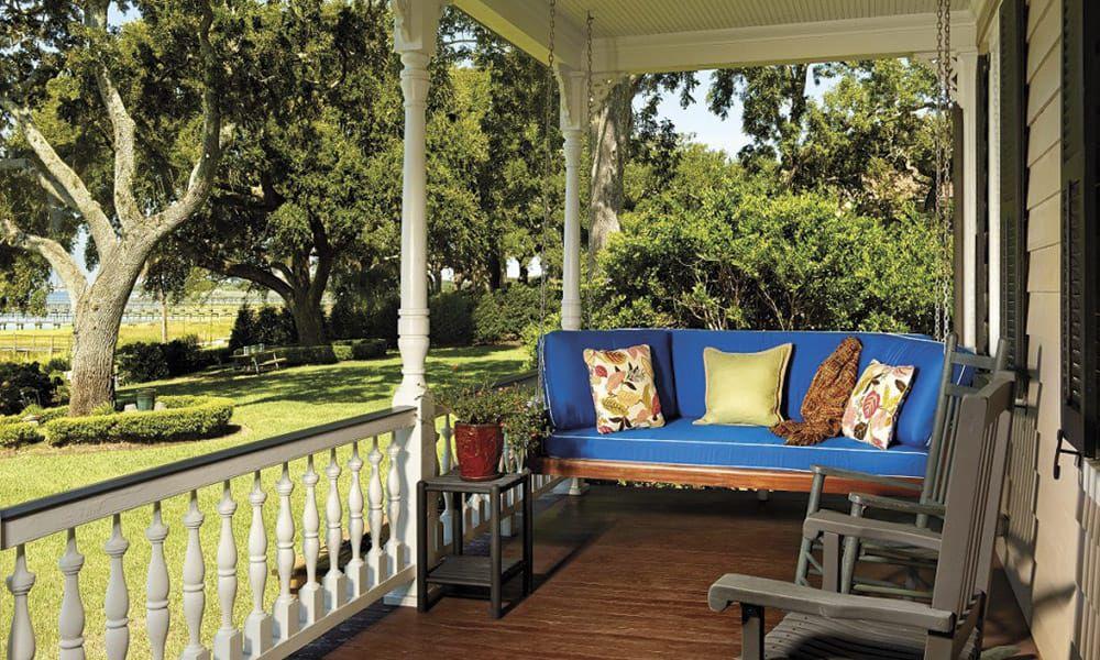 Porch Swings Cowgirl Magazine Original Charleston Bedswing