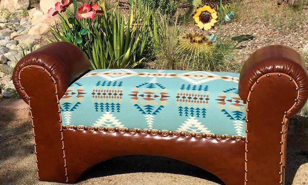 Ernie Apodaca Western Furniture Bench Cowgirl Magazine