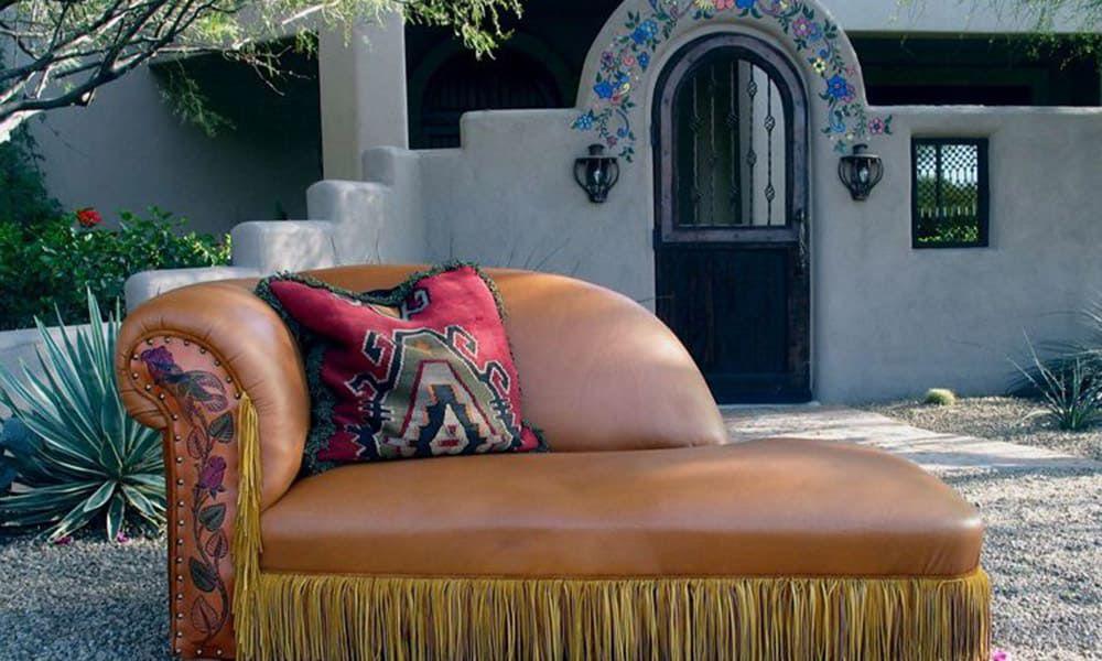 Ernie Apodaca Western Furniture Lounge Sofa Cowgirl Magazine