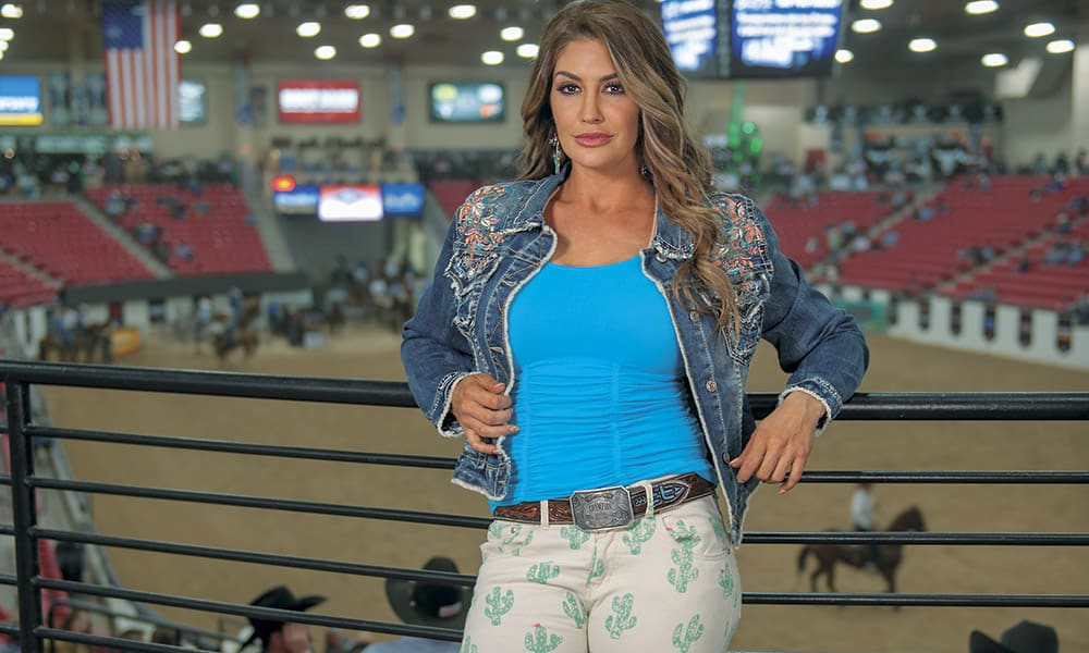Fallon Taylor Barrel Racer Cowgirl Magazine photo by Ken Amorosano