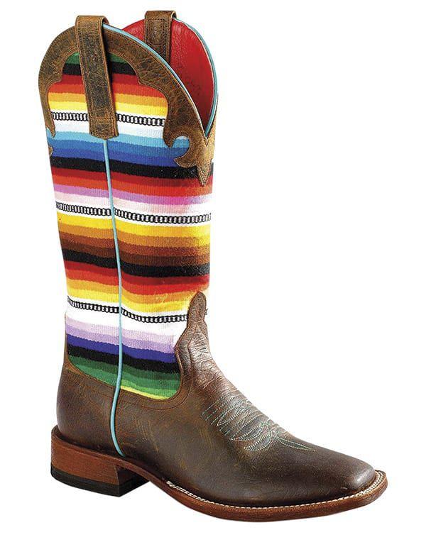 serape horse tack cowgirl magazine cowboy boots