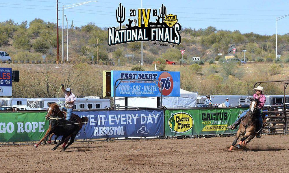 Team Roping Finals Rancho Rio Wickenburg Arizona Cowgirl Magazine
