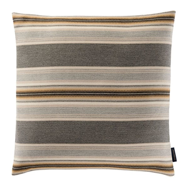 natural browns striped pillow cushion sunbrella pendleton