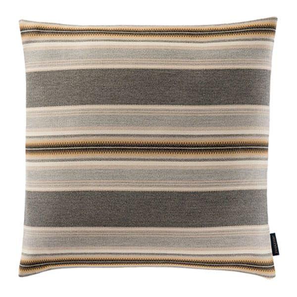 natural browns striped pillow cushion sunbrella pendleton