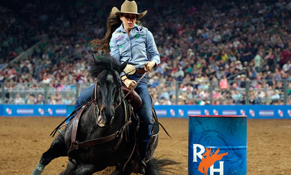 RODEOHOUSTON Super Series Championship Cowgirl Magazine Nellie Williams Miller