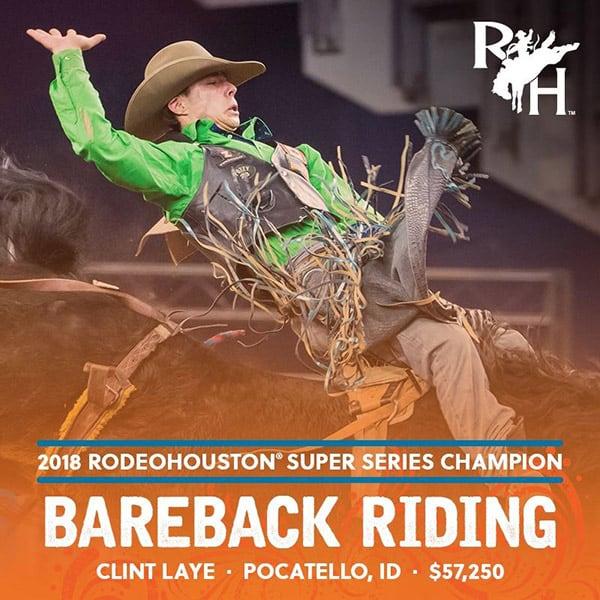 RODEOHOUSTON Super Series Championship Cowgirl Magazine Bareback Riding