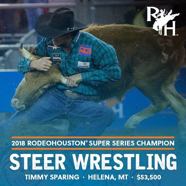 RODEOHOUSTON Super Series Championship Cowgirl Magazine Timmy Sparing