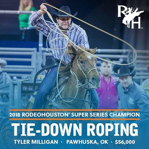 RODEOHOUSTON Super Series Championship Cowgirl Magazine Tyler Milligan