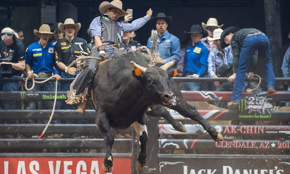 PBR Ak-Chin Invitational Bull Riders Cowgirl Magazine