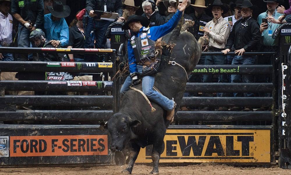 PBR Ak-Chin Invitational Bull Riders Eduardo Aparecido Cowgirl Magazine
