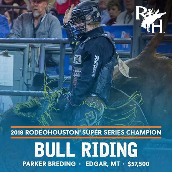 RODEOHOUSTON Super Series Championship Cowgirl Magazine Bull Riding