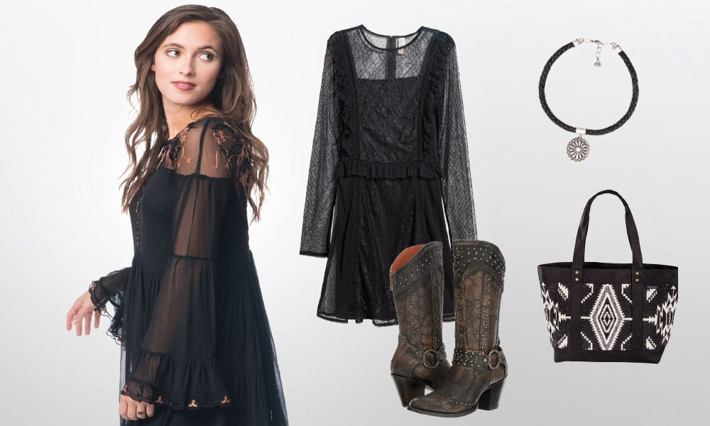 Black Clothing Western Fashion Cowgirl Magazine