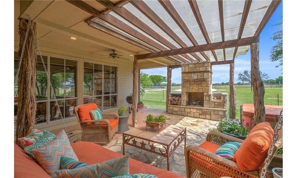 ranch retreat home granbury Texas event venue wedding western wedding Keller Williams the double take team cowgirl magazine