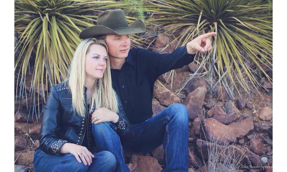 jackie ganter jim breck bean janna bean jana bean engagement wedding cowgirl wedding western wedding cowgirl magazine