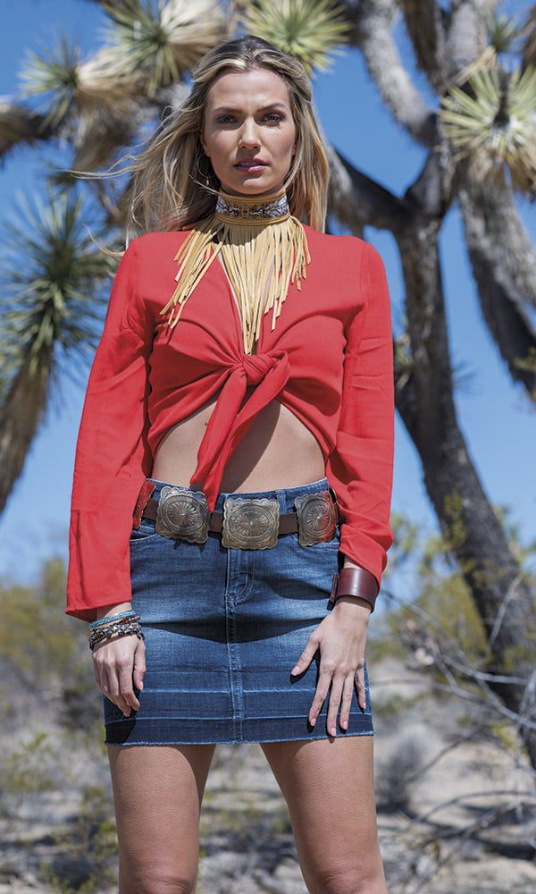 Desert Summer Fashion Cowgirl Magazine