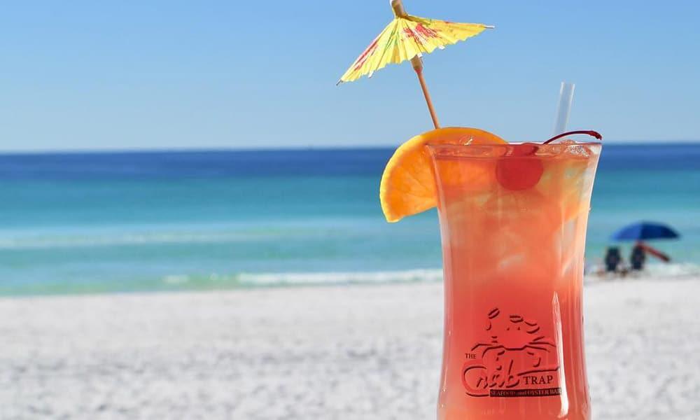 Destin Florida Vacation Cowgirl Magazine Crab Trap Restaurant