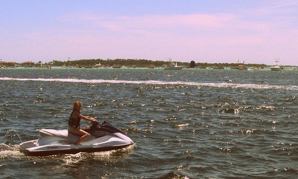 Destin Florida Vacation Cowgirl Magazine Jetski Rental