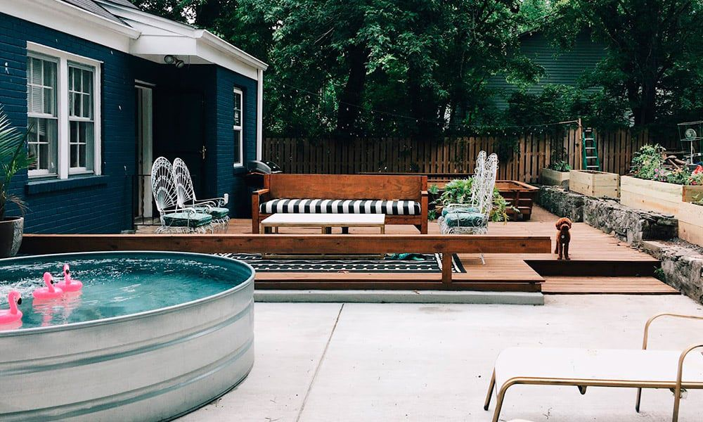 DIY Stock Tank Pool Cowgirl Magazine