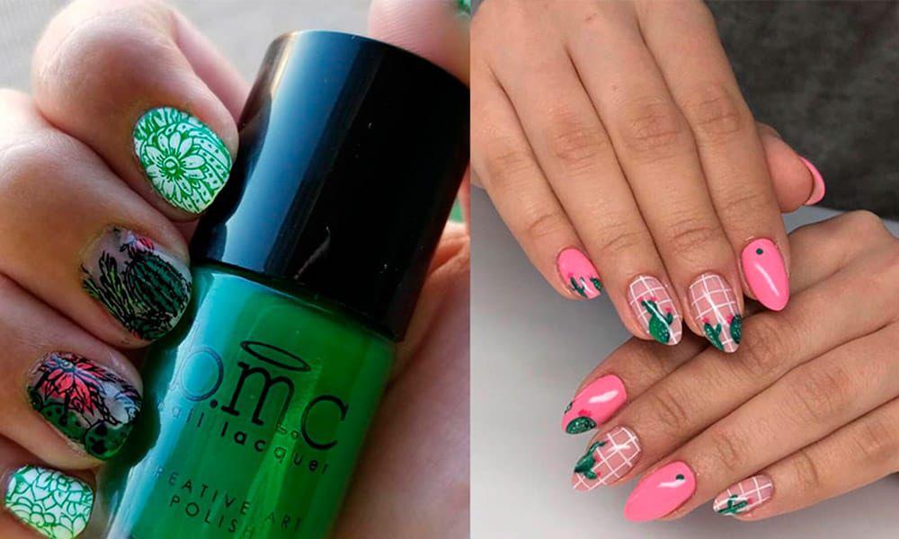 cactus nails cacti manicure cowgirl magazine