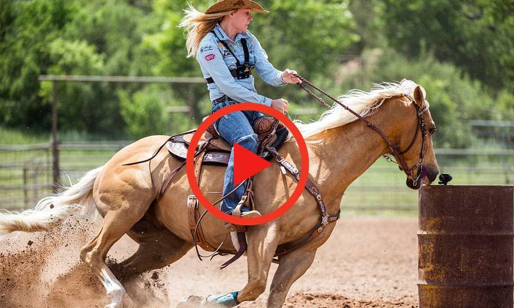 Red Bull Barrel Racer Jackie Ganter