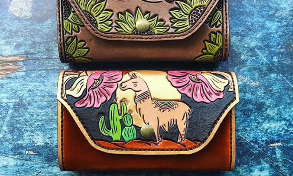 Custom Leather Wallets Cowgirl Magazine