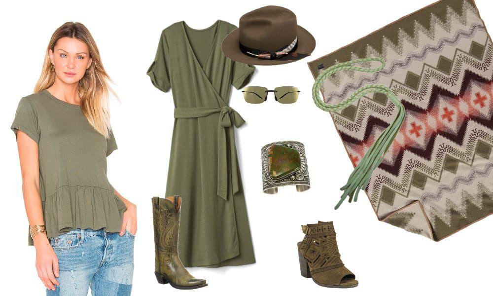 Sage Western Fashion Summer Style Cowgirl Magazine