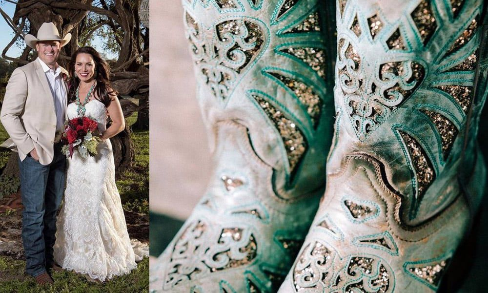 Turquoise Cowgirl Wedding Inspiration Cowgirl Magazine