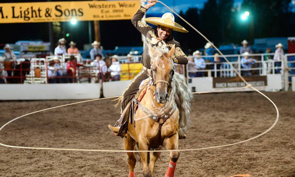 Tomas Garcilazo Trick Roper Horses Mexican Charro Cowgirl Magazine