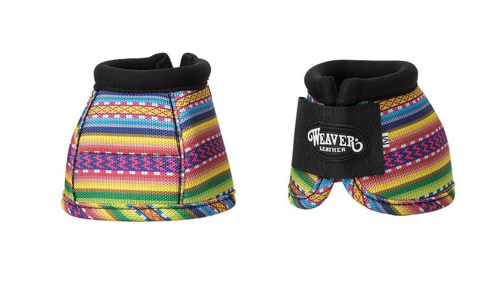 WeaverProdigy®Patterned Ballistic No-Turn Bell Boots in Fiesta Serape