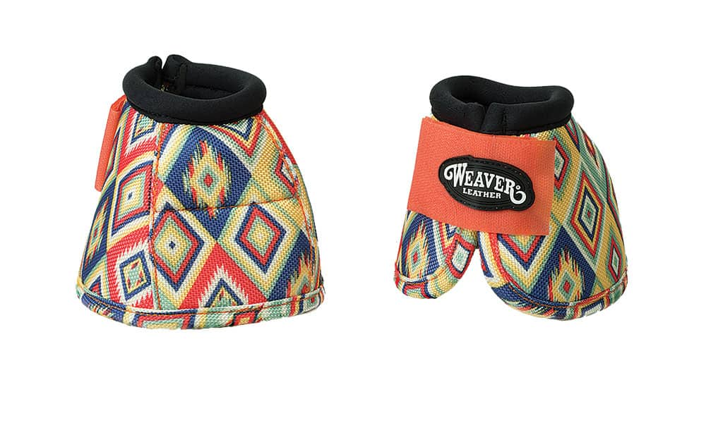 Weaver Prodigy® Patterned Ballistic No-Turn Bell Boots in Aztec