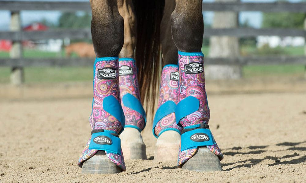 WeaverProdigy®Patterned Athletic Boots in Paisley